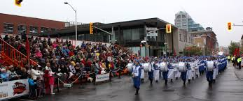thanksgiving parade kitchener waterloo canada divine land marching band brings u201camazing energy