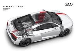 audi r8 v10 rws goes rear drive for driving purists autozaurus