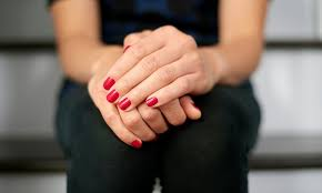 regular or shellac manicure sophisticated hair salon groupon