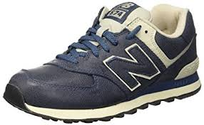 amazon customer reviews new balance mens 574 amazon com new balance 574 men s genuine leather sneaker navy