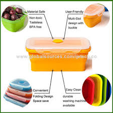 Food Storage Container Sets - china 4 collapsible food storage container set food grade
