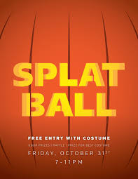 spooky halloween pics wear a costume get free admission splatball indoor paintball