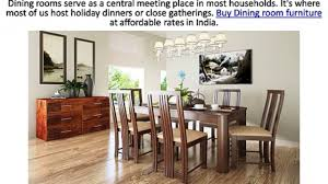 buy dining room furniture at housefull co in video dailymotion