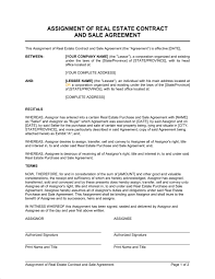 real estate sales contract template world of letter u0026 format