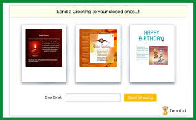 php send html email template formget