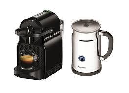 which delonghi espresso machine amazon black friday deal nespresso inissia espresso machine w aeroccino milk frother