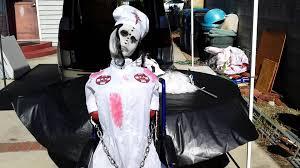 electrified maniac spirit halloween spirit halloween convulsing nurse youtube