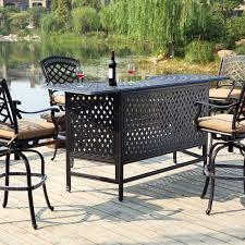 Concrete Patio Table Set by Concrete Patio As Outdoor Patio Furniture With Fancy Patio Bar