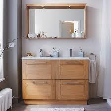 peinture sp iale meuble de cuisine meuble de salle de bains chêne 120 cm isle castorama sdb