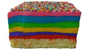 rainbow ice cream cake youtube