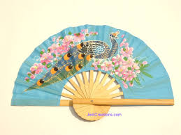 held fans fans rayon fans artifial silk wedding fans with