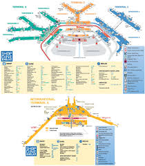 Dulles Terminal Map Download Map Us Airports Major Tourist Attractions Maps U S