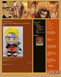 naruto blogger template anime blogger template skincorner com