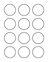 1 Inch Circle Template by 2 Inch Circle Template Template Business