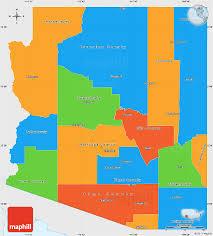 Maps Of Arizona Political Map Arizona Afputra Com
