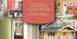 coral reef u2013 sherwin williams 2015 color of the year u2013 act two