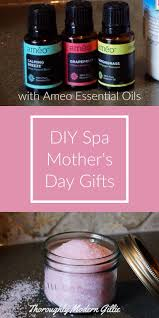 diy spa mother u0027s day gifts using améo essential oils mothers
