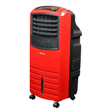 newair 1000 cfm 3 speed red portable evaporative cooler for 300 sq
