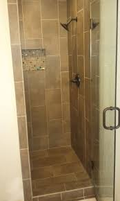 Bathroom Shower Tile Ideas Decorate Rustic Bathroom With Stone Tile Shower Ideas In Wide