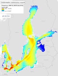 Baltic Sea Map Underwater Sound U2013 State Of The Baltic Sea