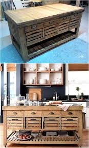 Diy Kitchen Island Pallet Best 25 Pallet Kitchen Cabinets Ideas That You Will Like On