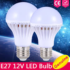 12 Volt Dc Led Light Fixtures E27 Led Bulb Lu 3 W 5 W 7 W Dc 12 V Dipimpin Lu E27 9 W 12 W