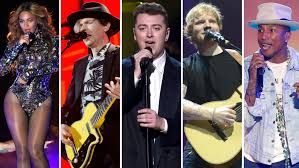 grammy winners list for 2015 includes sam smith pharrell grammy nominations full list album of the year variety