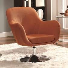 Orange Leather Swivel Chair Lucy Leather Orange Swivel Chair Sectional Sofa Picture 87 Chair