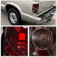 2004 Silverado Tail Lights 1995 2004 Chevy Blazer Jimmy Envoy Euro Style Altezza Tail