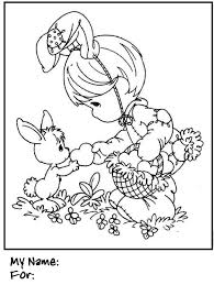 printable colouring easter cards free printable bunny place cards