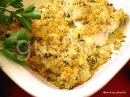 gratin de poisson aux herbes et au citron la recette gustave