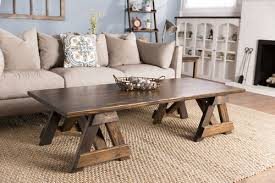 Trestle Coffee Table Trestle Coffee Table Furniture Springdale Arkansas