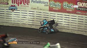 craftsman 48250 knoxville raceway 410 highlights may 14 2016 youtube