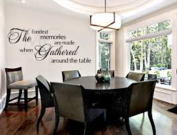 Dining Room Wall Decals Dining Room Wall Decal Fondest Memories Dining Room Sign