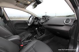2014 ford fiesta hatchback interior 006 the truth about cars