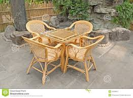 Cane Furniture Sale In Bangalore Cane Chair Stock Image Image 26208901