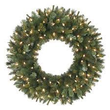 large outdoor lighted wreaths shop artificial