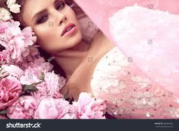 beautiful flower garden princess stock photo 288654506