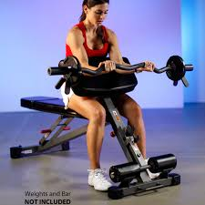 xmark ab hyperextension and preacher curl bench xm 7631 fitness