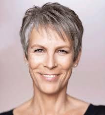 coupe cheveux gris idée coiffure femme 50 ans coupes cheveux inspirées par les