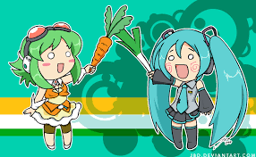 Leek Meme - gumi carrot and miku s leek vocaloid character items know your meme