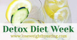 detox diet week the 7 day weight loss cleanse