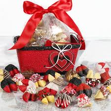 cookie gift basket s day fortune cookies chocolate covered fortune