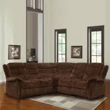 Chenille Reclining Sofa by Curved Reclining Sofa Foter