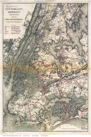 New York City Area Map by Old Maps Of Manhattan New York City