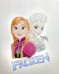 frozen princess anna queen elsa ijolene deviantart