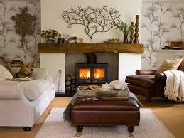 brick fireplace mantel decorating ideas with alarm clock amys office