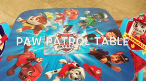 paw patrol table u0026 organizer review