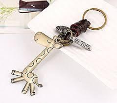 minigianni handbag tote purse giraffe pendant