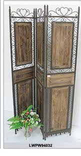 rustic shabby chic vintage antique wood folding screen room
